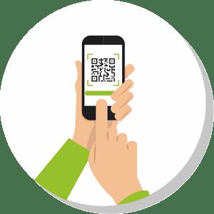 elektronski meni - skeniranje QR kode